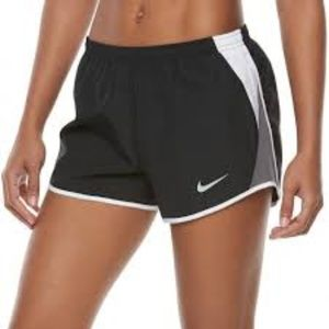 Nike Dri Fit Black Running Shorts with Liner Brief